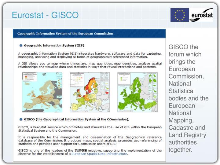 Eurostat - GISCO