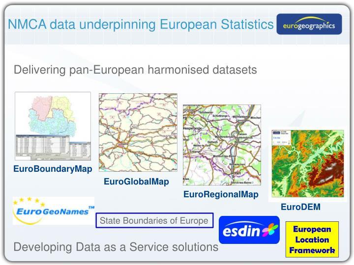 NMCA data underpinning European Statistics