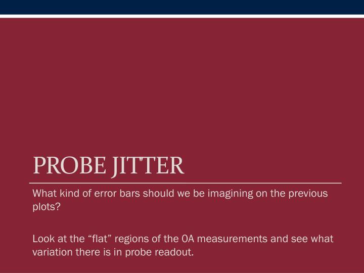 Probe Jitter