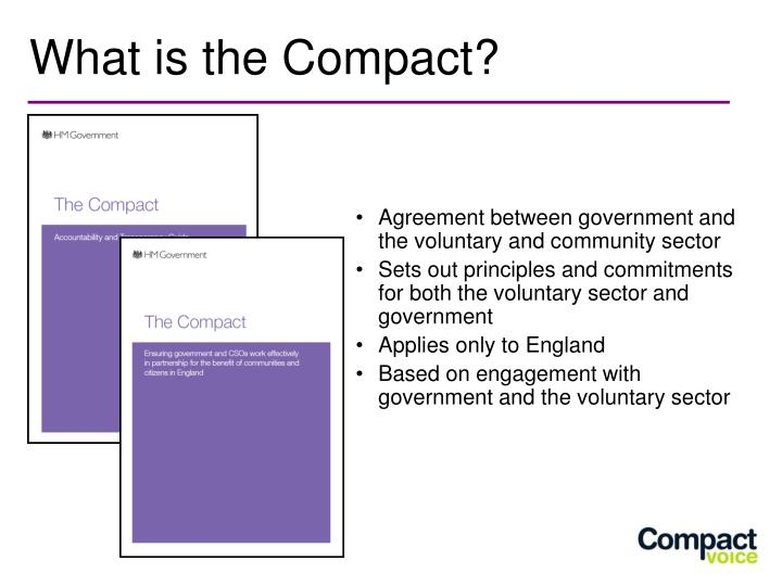 What is the compact