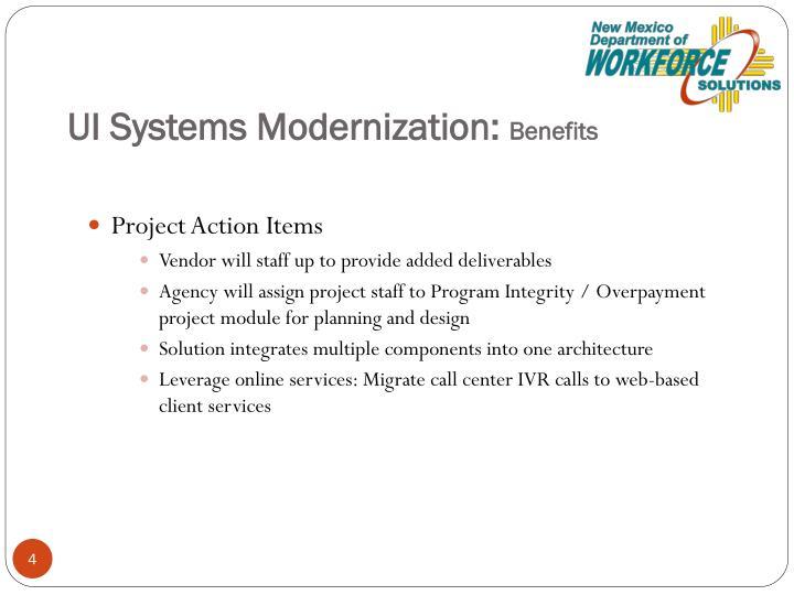UI Systems Modernization: