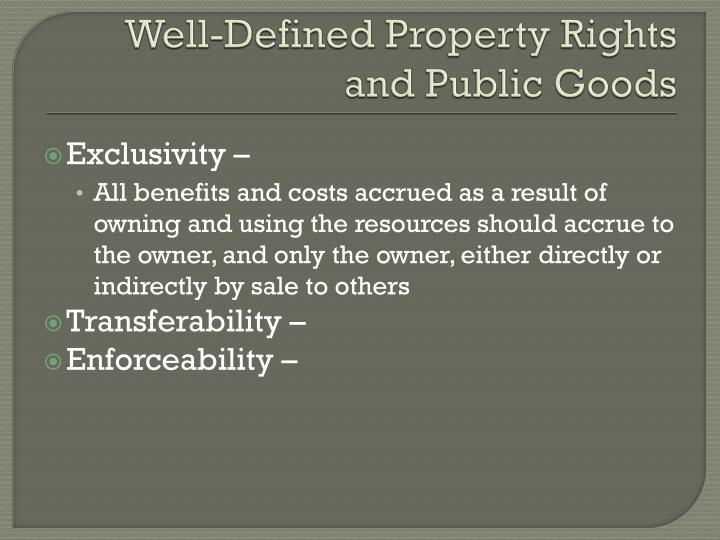 Well-Defined Property