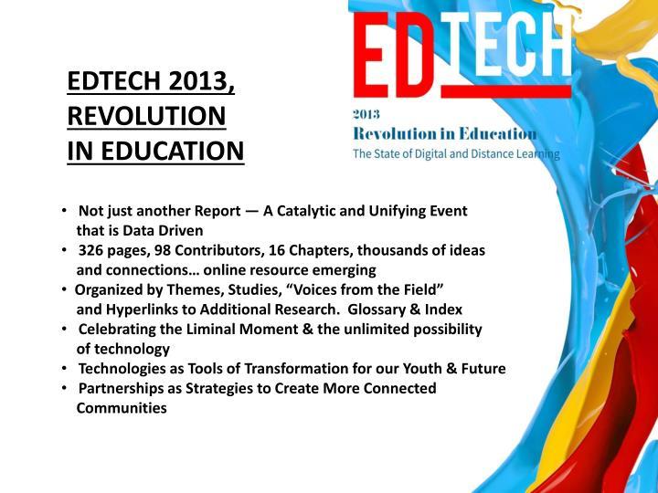EDTECH 2013,