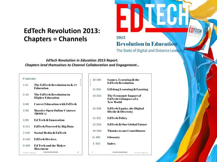 EdTech Revolution 2013:
