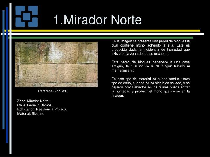 1.Mirador Norte