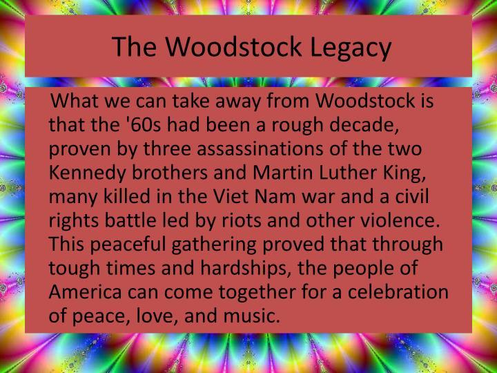 The Woodstock Legacy
