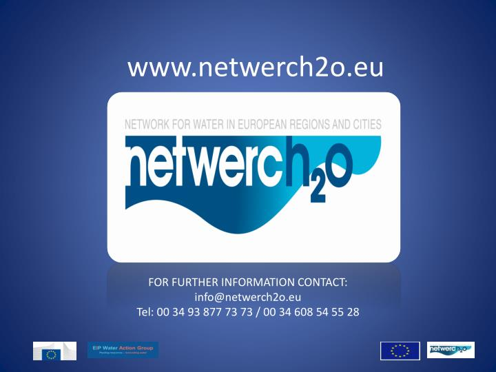 www.netwerch2o.eu