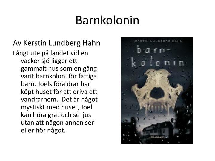 Barnkolonin