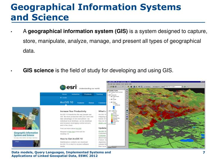 Geographical Information Systems and Science
