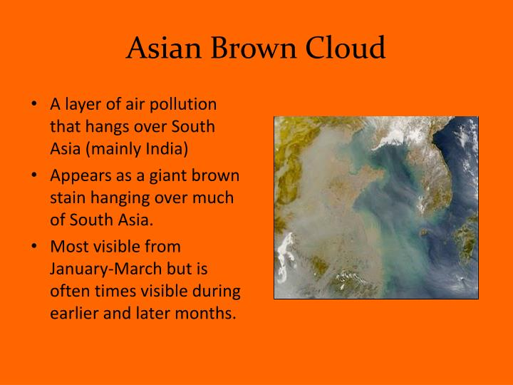 Asian Brown Cloud