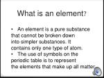 what is an element