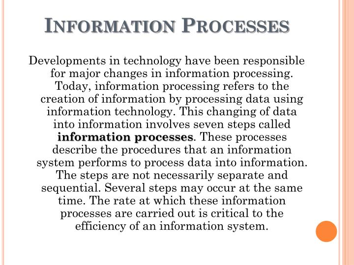 Information processes1