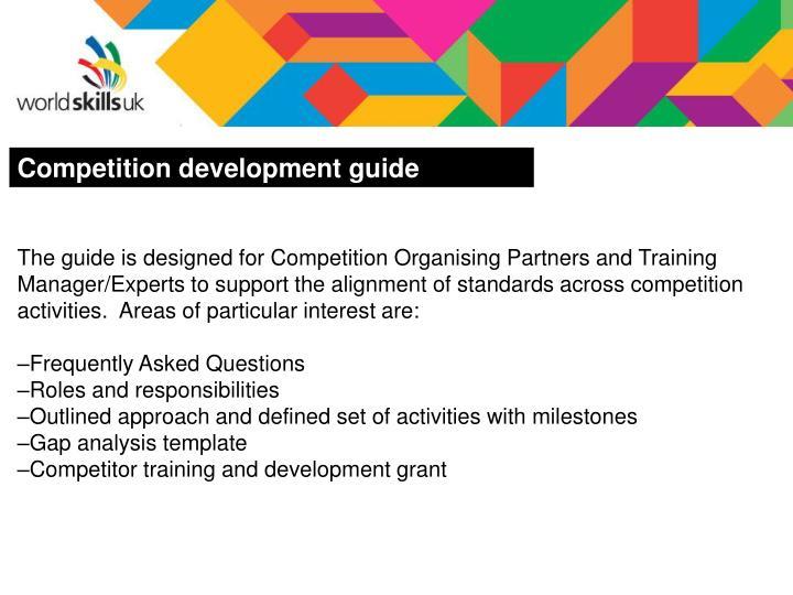 Competition development guide