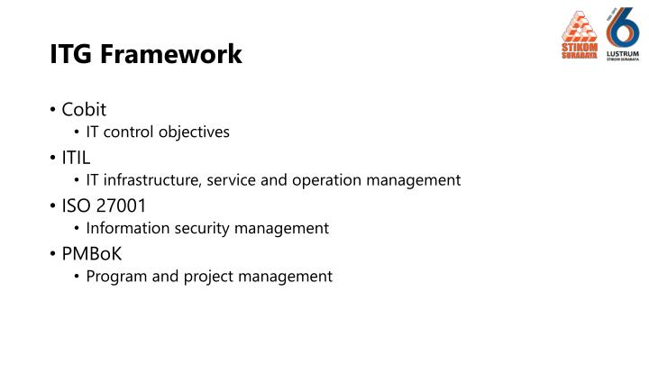 ITG Framework