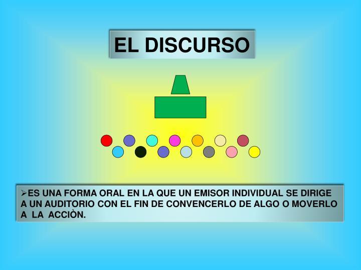 EL DISCURSO