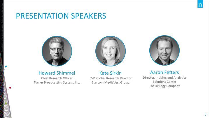 Presentation speakers