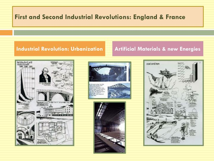 First and Second Industrial Revolutions: England & France