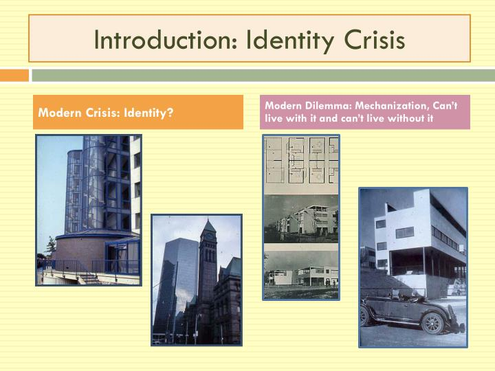 Introduction: Identity Crisis