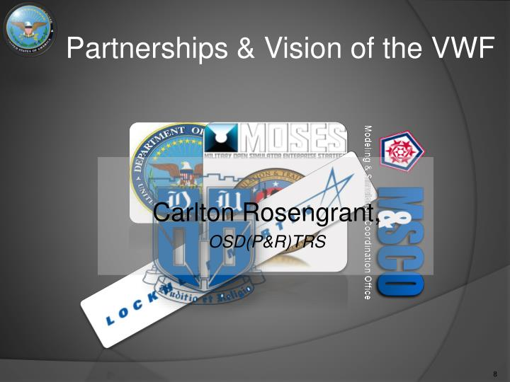 Partnerships & Vision of the VWF