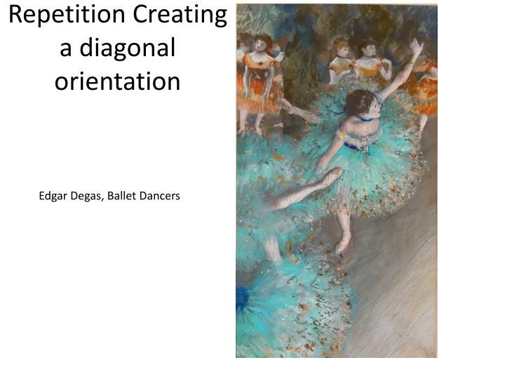 Repetition Creating a