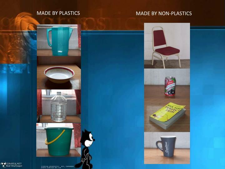 MADE BY PLASTICS