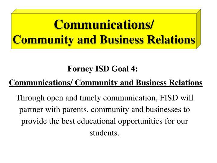 Communications/