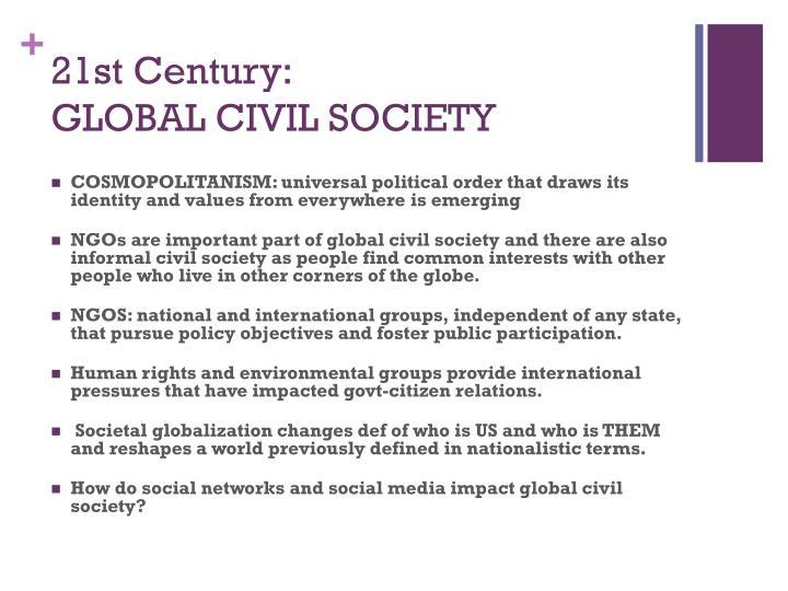 21st Century:
