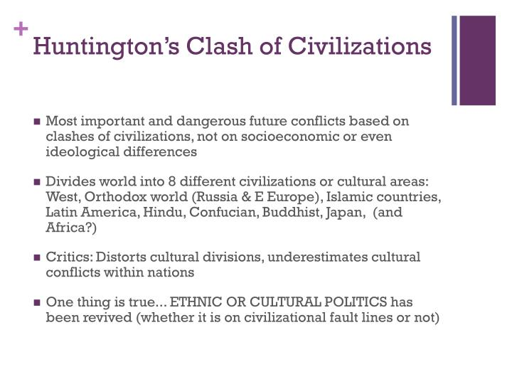 Huntington's Clash of Civilizations