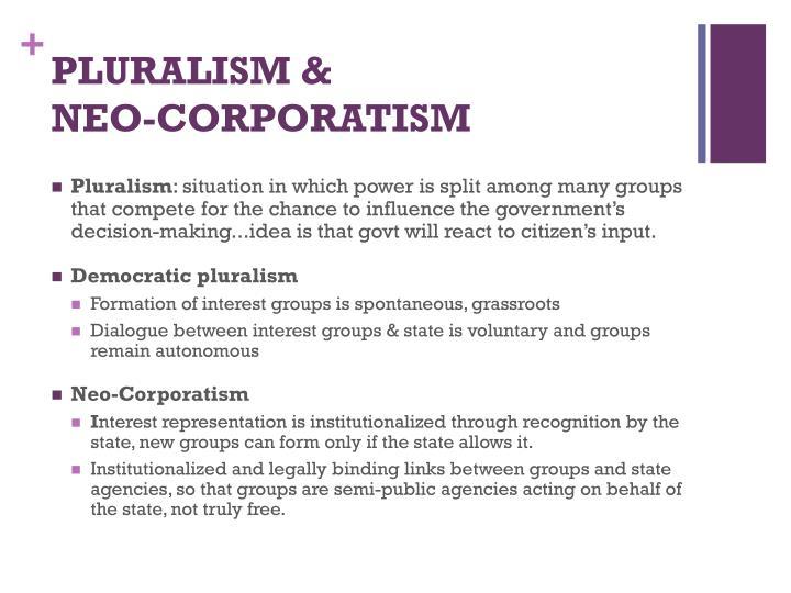 PLURALISM &