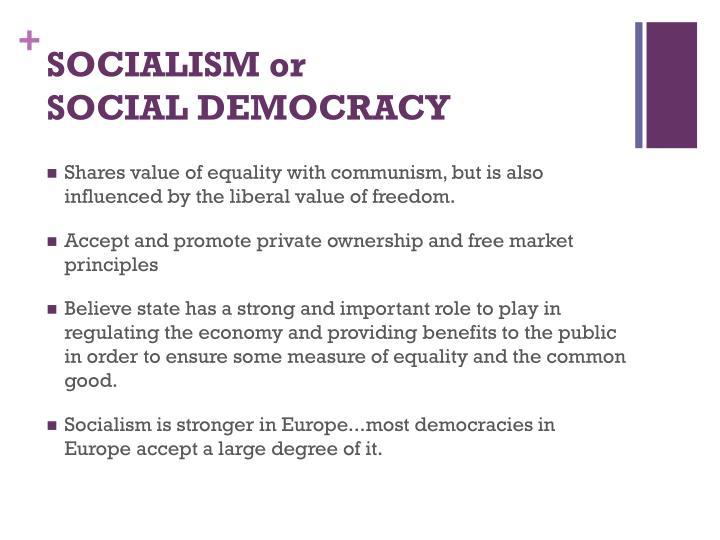 SOCIALISM or