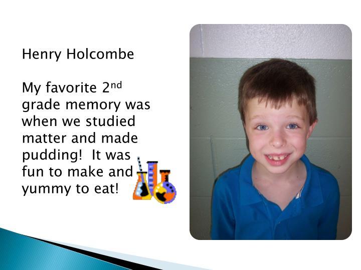Henry Holcombe