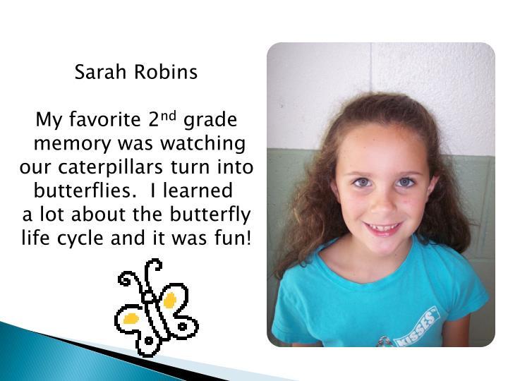 Sarah Robins