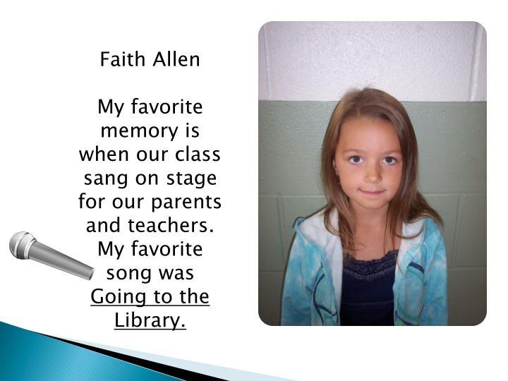 Faith Allen