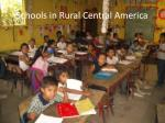 schools in rural central america