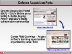 defense acquisition portal
