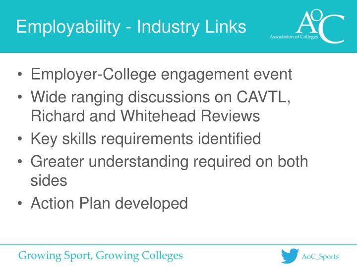 Employability - Industry Links