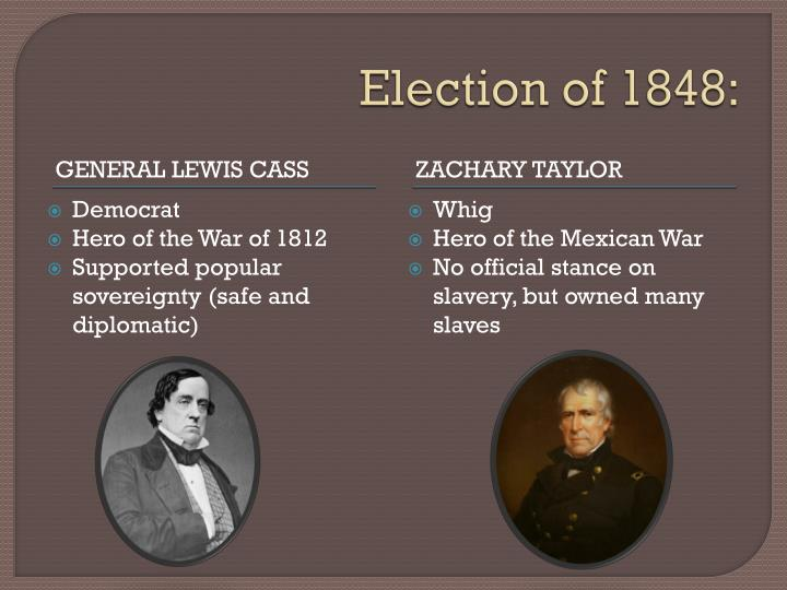 Election of 1848: