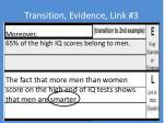 transition evidence link 31