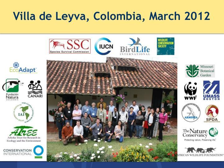 Villa de Leyva, Colombia,