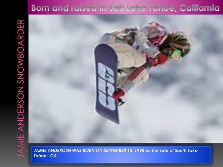 Jamie anderson snowboarder