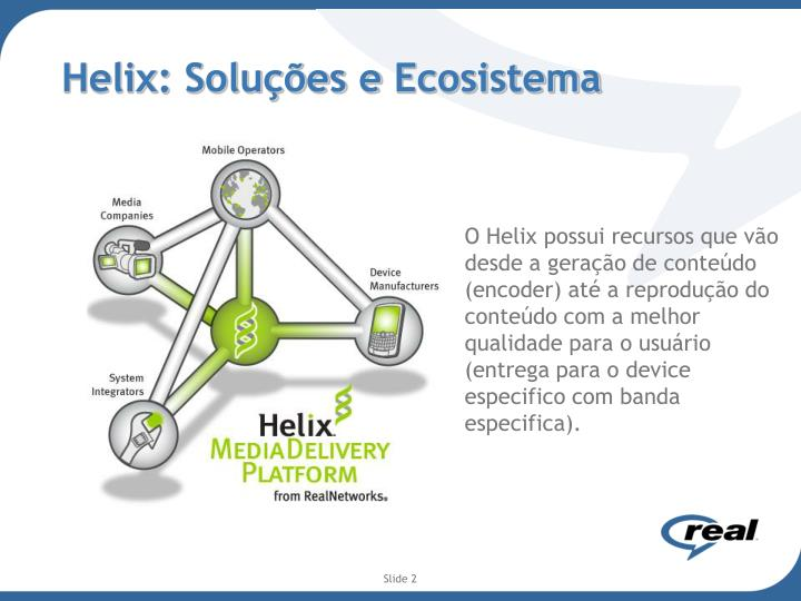 Helix solu es e ecosistema