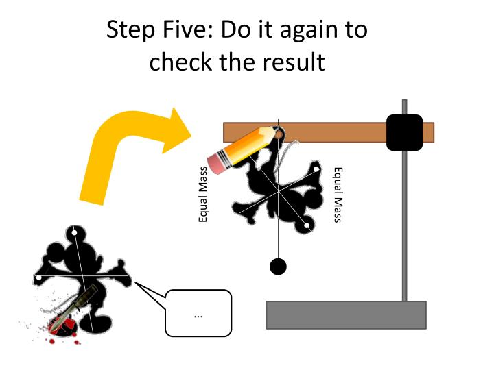Step Five: Do it again to check the result