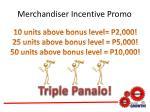 merchandiser incentive promo7