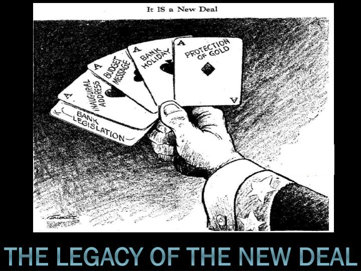 the legacy of the new deal n.