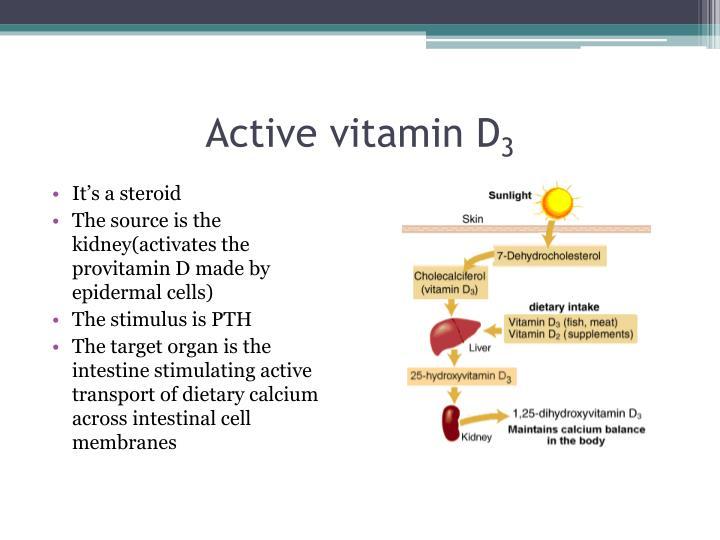 Active vitamin D