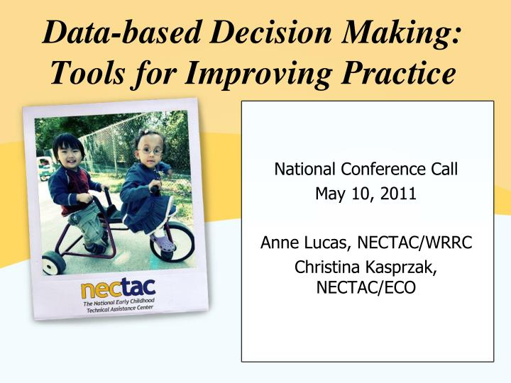 data based decision making tools for improving practice n.