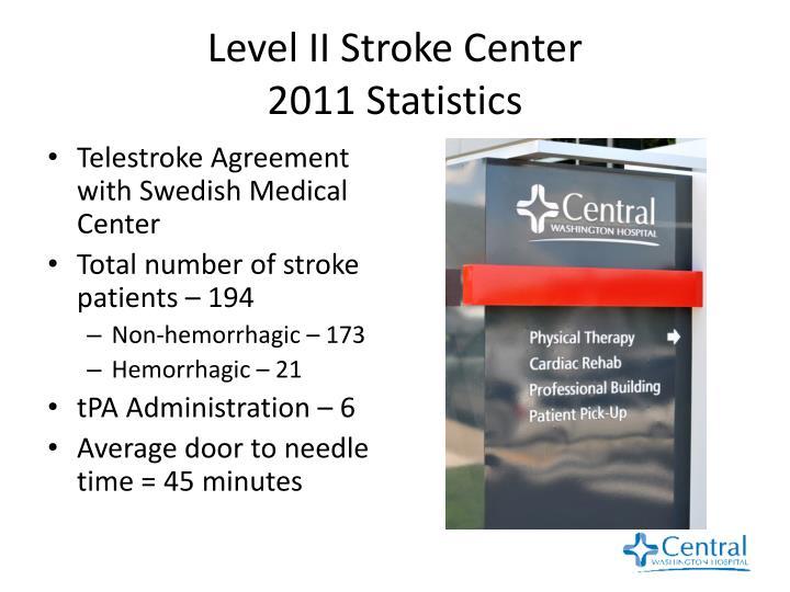 Level II Stroke Center
