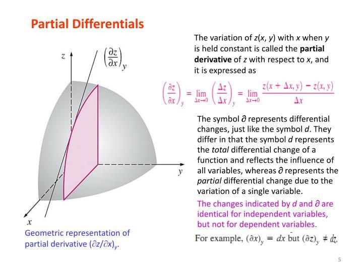 Partial Differentials