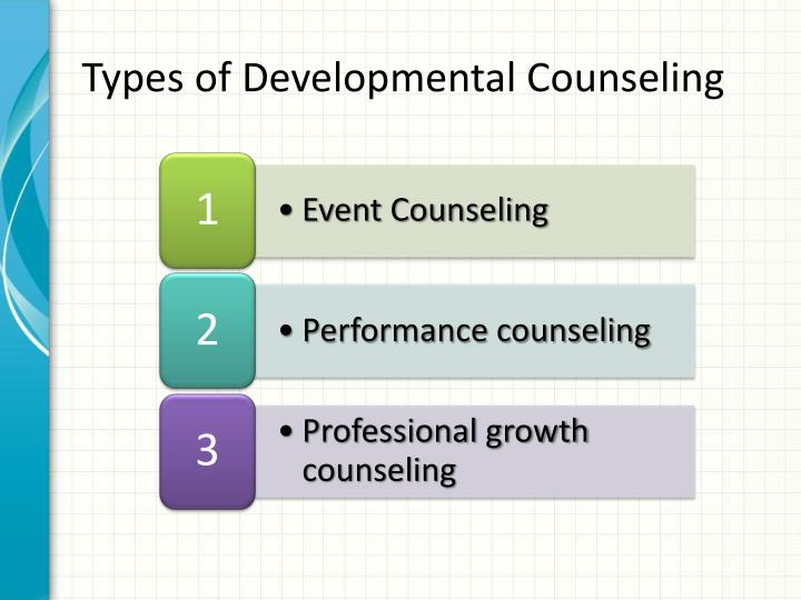 Types of Developmental Counseling