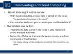 disadvantages of cloud computing3